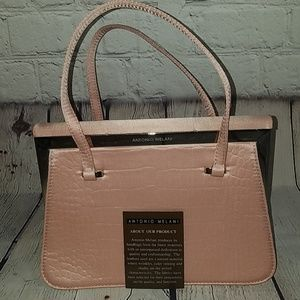 NWOT ANTONIO MELANI pink purse, $168